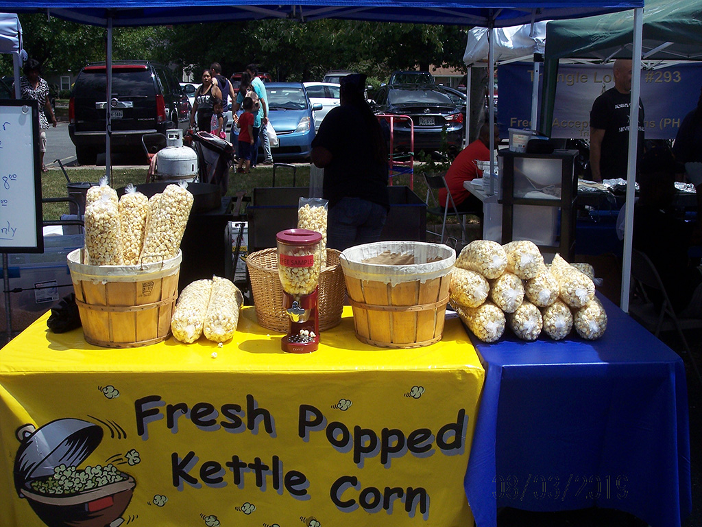 Fresh Popped Kettle Corn